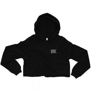 Crop Hoodie – KPA Logo W/ Dance With All Your Might