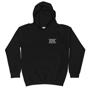 Unisex Kids Hoodie – KPA Logo W/ Dance With All Your Might
