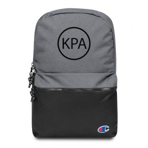 Embroidered Champion Backpack – Circle KPA Logo