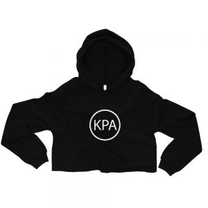 Crop Hoodie – Circle KPA Logo