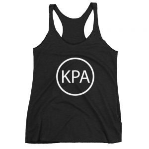 Women's Racerback Tank – Circle KPA Logo