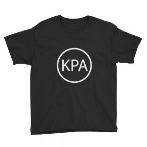 Unisex Youth Short Sleeve T-Shirt – Circle KPA Logo