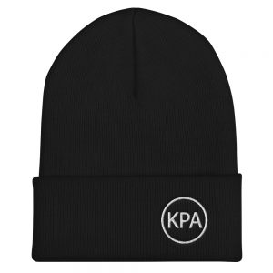 Cuffed Beanie – Circle KPA Logo